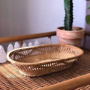 Oblong Woven Basket
